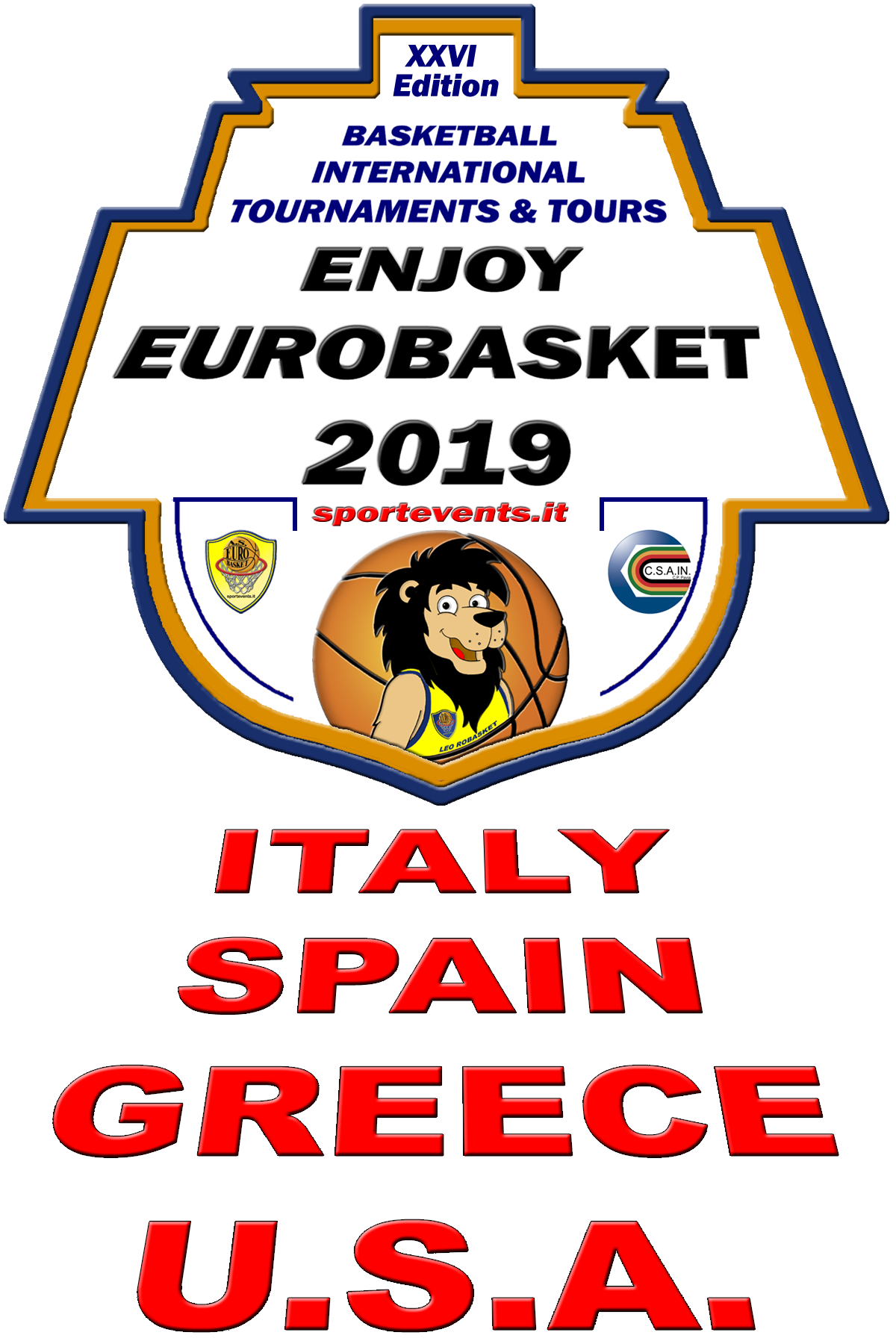 ENJOY EUROBASKET 2019 - XXVI Edition